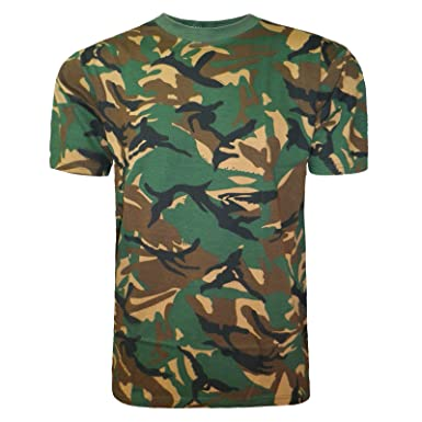 dd9d0956ab Mens Camouflage T Shirt CAMO Army Combat Military Hunting Fishing TOP Vest  Plus Size M-5XL: Amazon.co.uk: Clothing