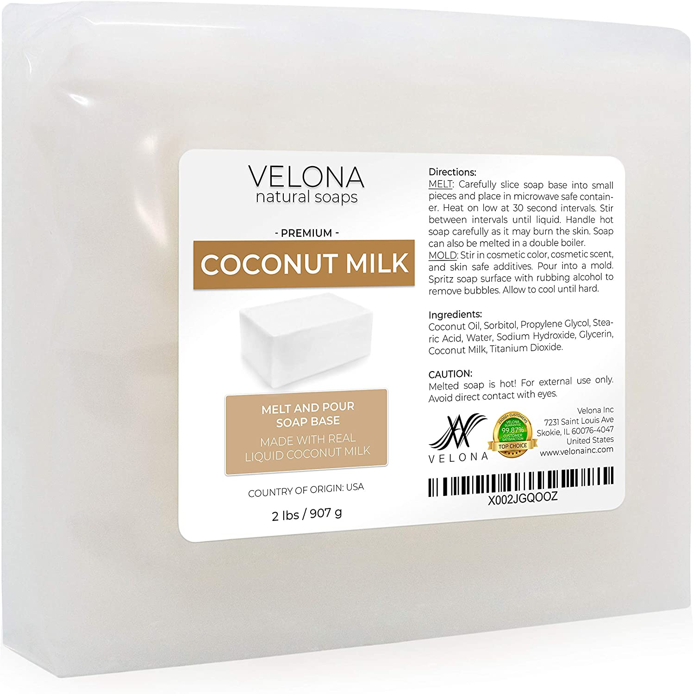2-Pound /& Clear Glycerin Suspension Soap Base Goats Milk Soap Suspension Base 2