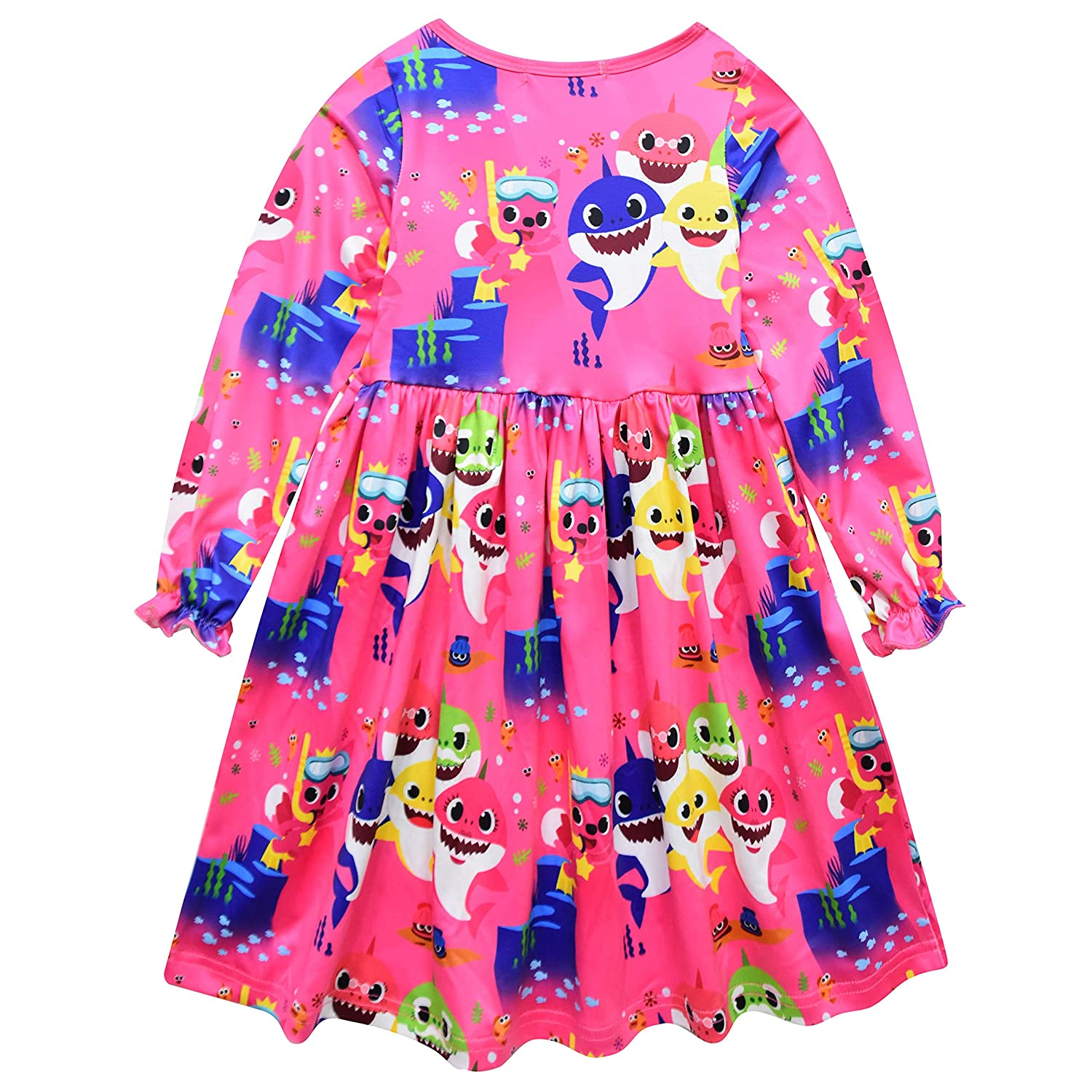 Crazy Gotend Toddle Girls Nightgown Sleepwear Nightie Casual Dress