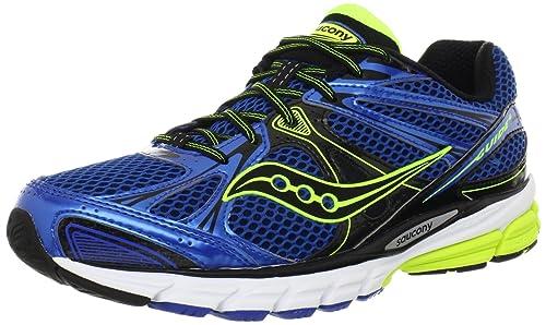 SAUCONY Guide 6 Zapatilla de Running Caballero, Azul/Negro, 41: Amazon.es: Zapatos y complementos