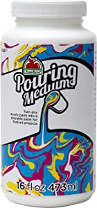 Apple Barrel Pouring Medium, 44840E Acrylic, 16 oz, 16 Fl Oz