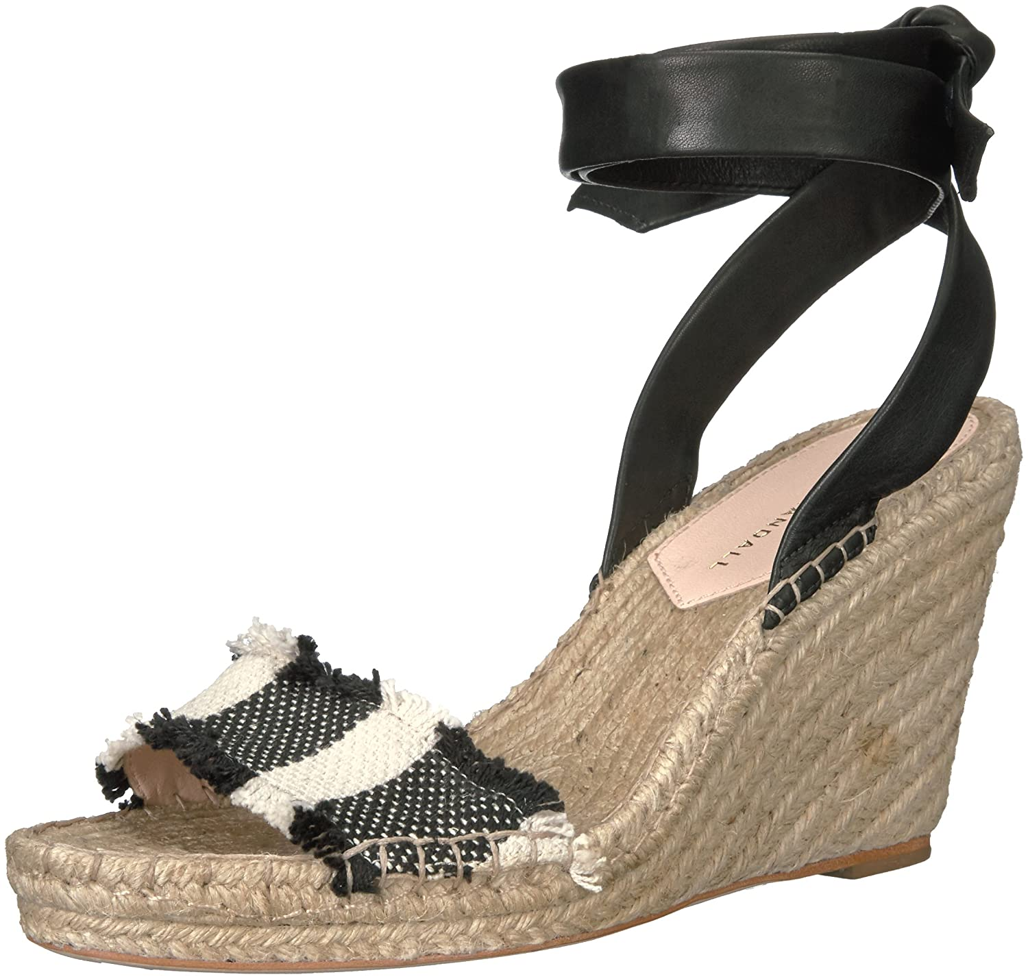 0c0aa236940 Amazon.com  LOEFFLER RANDALL Women s Harper Espadrille Wedge Sandal  Shoes