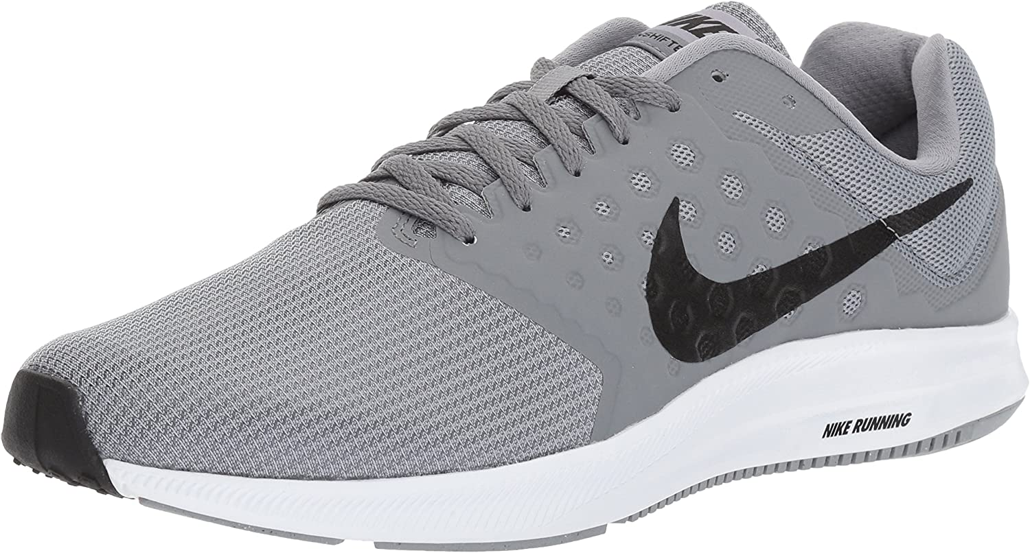 Nike Men s Downshifter 7 Running Shoe, Stealth Black Cool Grey White, 13