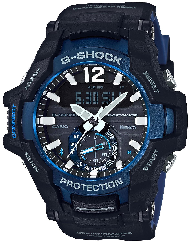 [カシオ]CASIO 腕時計 G-SHOCK ジーショック GRAVITYMASTER Bluetooth 搭載 ソーラー GR-B100-1A2JF メンズ B07DZZD68K