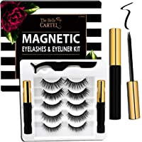 The Belle Cartel Magnetic Eyelashes and Eyeliner Kit, Magnetic Lashes and Liner Set, Reusable Magnetic Lashes with…