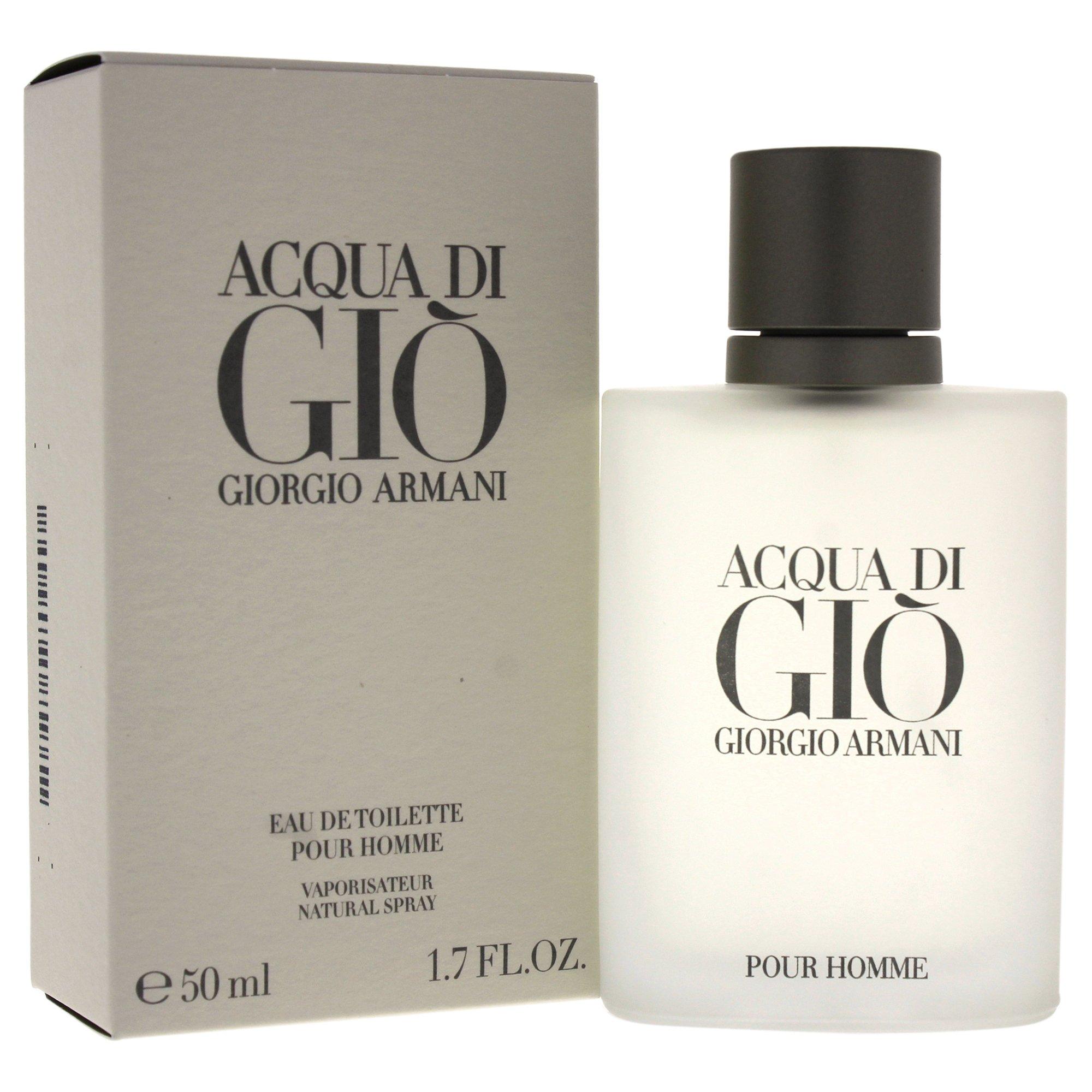 Giorgio Armani Acqua Di Gio Eau De Toilette Spray for Men, 1.7 Ounce by GIORGIO ARMANI