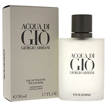 428f0e405a Amazon.com : Giorgio Armani Acqua Di Gio Eau De Toilette Spray for Men, 1.7  Ounce : Beauty