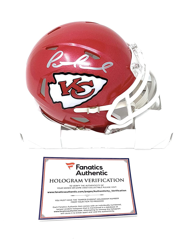 Patrick Mahomes Kansas City Chiefs Signed Autograph Speed Mini Helmet Fanatics Authentic Certified