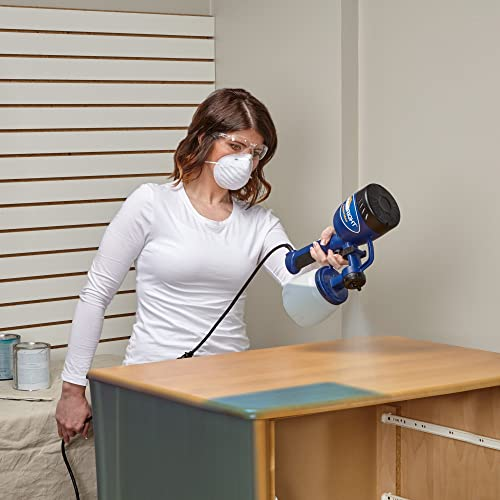 HomeRight Finish Max Latex Paint Sprayer can spray oil or water based materials such as latex paint