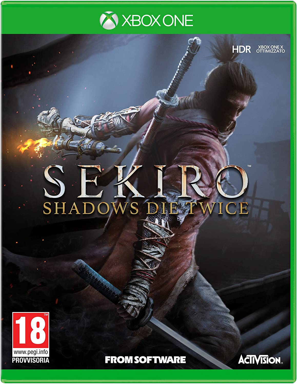 SEKIRO: Shadows Die Twice - Xbox One [Importación italiana ...
