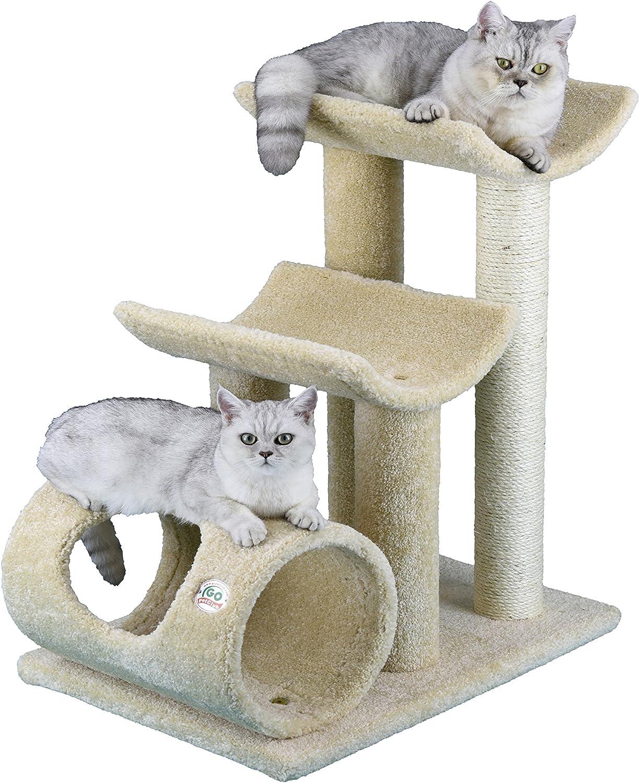 Go Pet Club Premium Carpeted Cat Tree