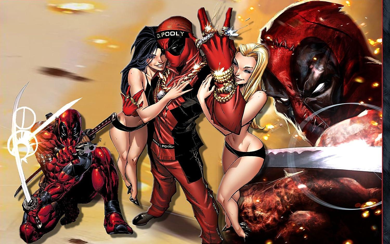 Posterhouzz Comics Deadpool Merc With A Mouth Hd Wallpaper