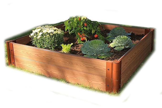 Marco todo Series (compuesto recaudado jardín cama Kit - 4 pies x ...