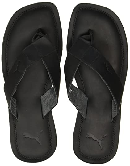 5ae92b2408e8 Puma Men s Paramount Idp Black and Dark Shadow Hawaii Thong Sandals - 7  UK India (40.5 EU)  Buy Online at Low Prices in India - Amazon.in
