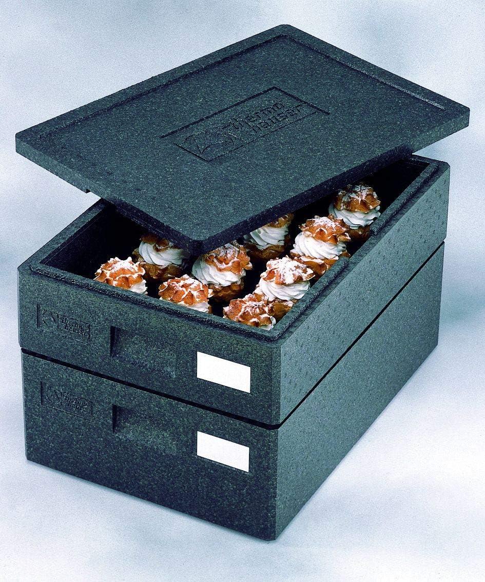 Caja de transporte universal, caja térmica, caja aislante, 68,5 x 48,5 cm/62,5 x 42,5 cm 30/36cm: Amazon.es: Hogar
