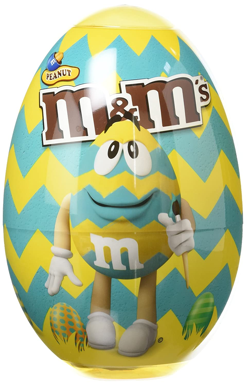 M&M's Œuf de Pâques Cacahuète/Chocolat 250 g - Lot de 2