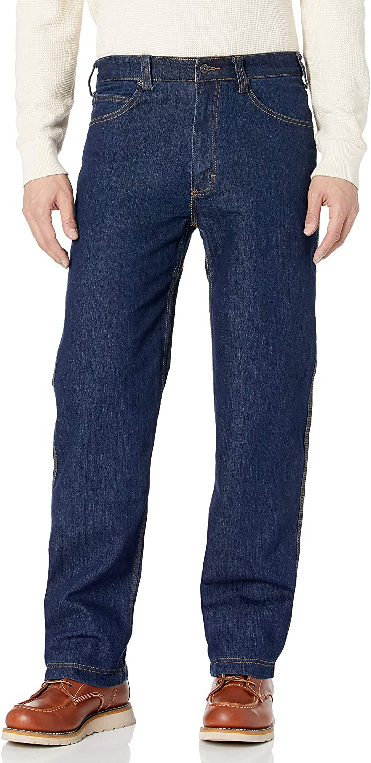 Smiths Workwear Mens 5 Pocket Stretch Jean with Gusset Jeans