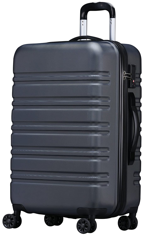 [luckypanda(ラッキーパンダ)] TSAロック搭載 スーツケース TY8098 機内持ち込み可 B0756XB4GP L|グレー グレー L