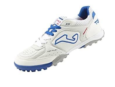 ec880617a Joma Top Flex Indoor Footballshoe 602 Bianco-Royal Turf  Amazon.co.uk  Shoes    Bags