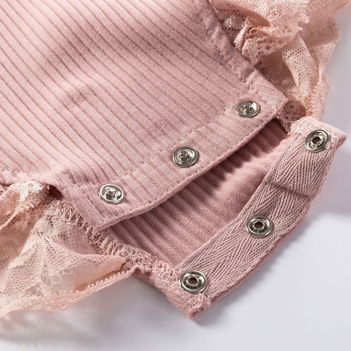 Colorful Childhood Newborn Baby Romper Girls Jumpsuit Infant Bodysuit Tutu Lace Dress Clothes Outfit