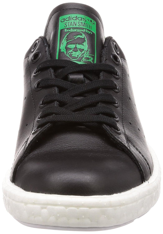 meet 10f00 da6ac Adidas - Basket Stan Smith Bb0009 Noir  Vert Amazon.fr Chaussures et Sacs