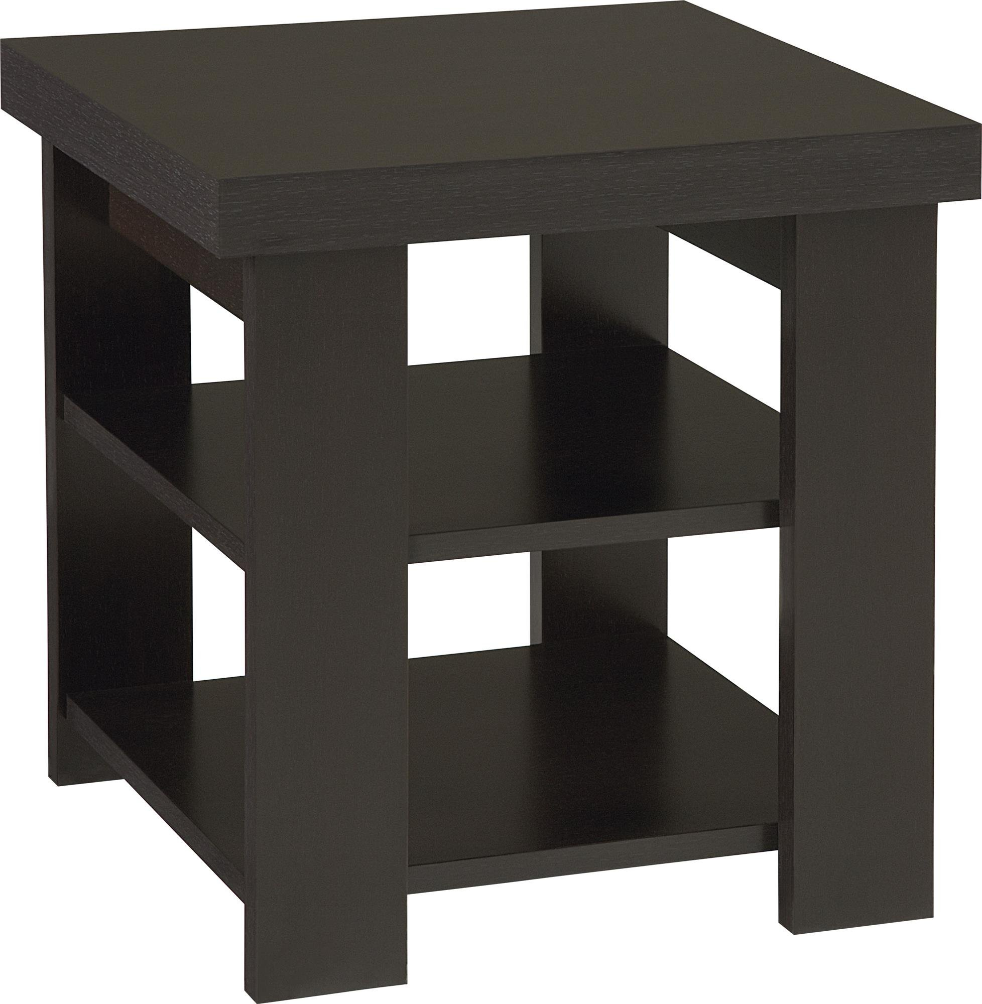 Ameriwood Home 5188012YCOM Jensen End Table, Espresso