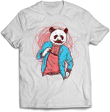 lepni.me Camisetas Hombre Panda Moderna, Ropa Urbana, Graciosa gráfica.: Amazon.es: Ropa y accesorios