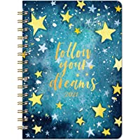 Lemome 2021 Weekly & Monthly Planner with Tabs