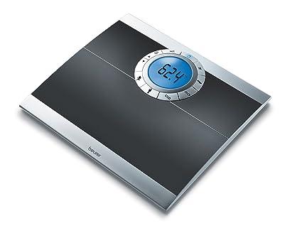 Beurer BF66, LCD, Negro, Plata - Báscula de baño