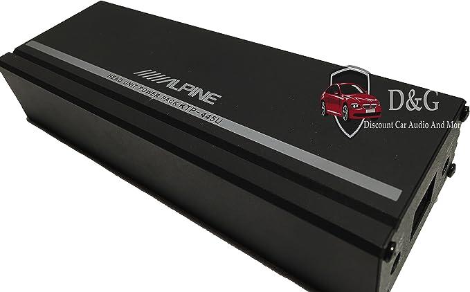 Alpine Ktp 445u 4 Channel Power Pack Amplifier