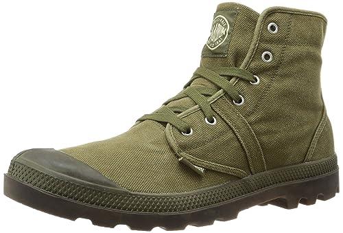 Palladium Men's Pallabrouse Boot,Dark Olive/Dark Gum,7 M US