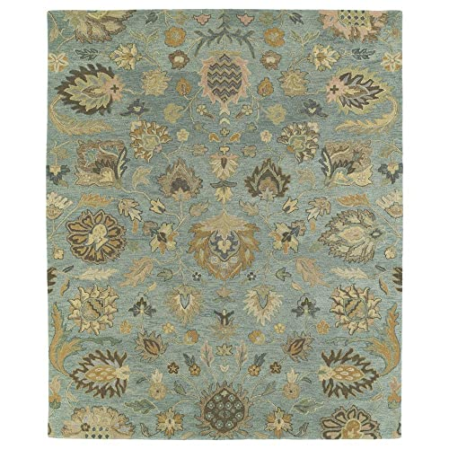 Kaleen Helena Collection Hand Tufted Area Rug, 4 x 6 , Spa