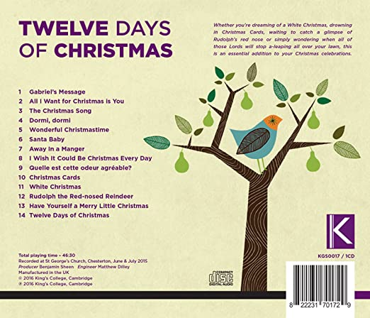 The King's Men, Various, __ - Twelve Days of Christmas - Amazon ...