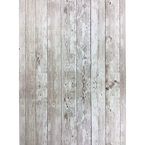 Yenhome Wood Grain Self Adhesive Cabinet Liner 17 7x118 Inch Shiplap Peel And Stick Wallpaper For Kitchen Bedroom Living Room Wall Decor Wall Covering