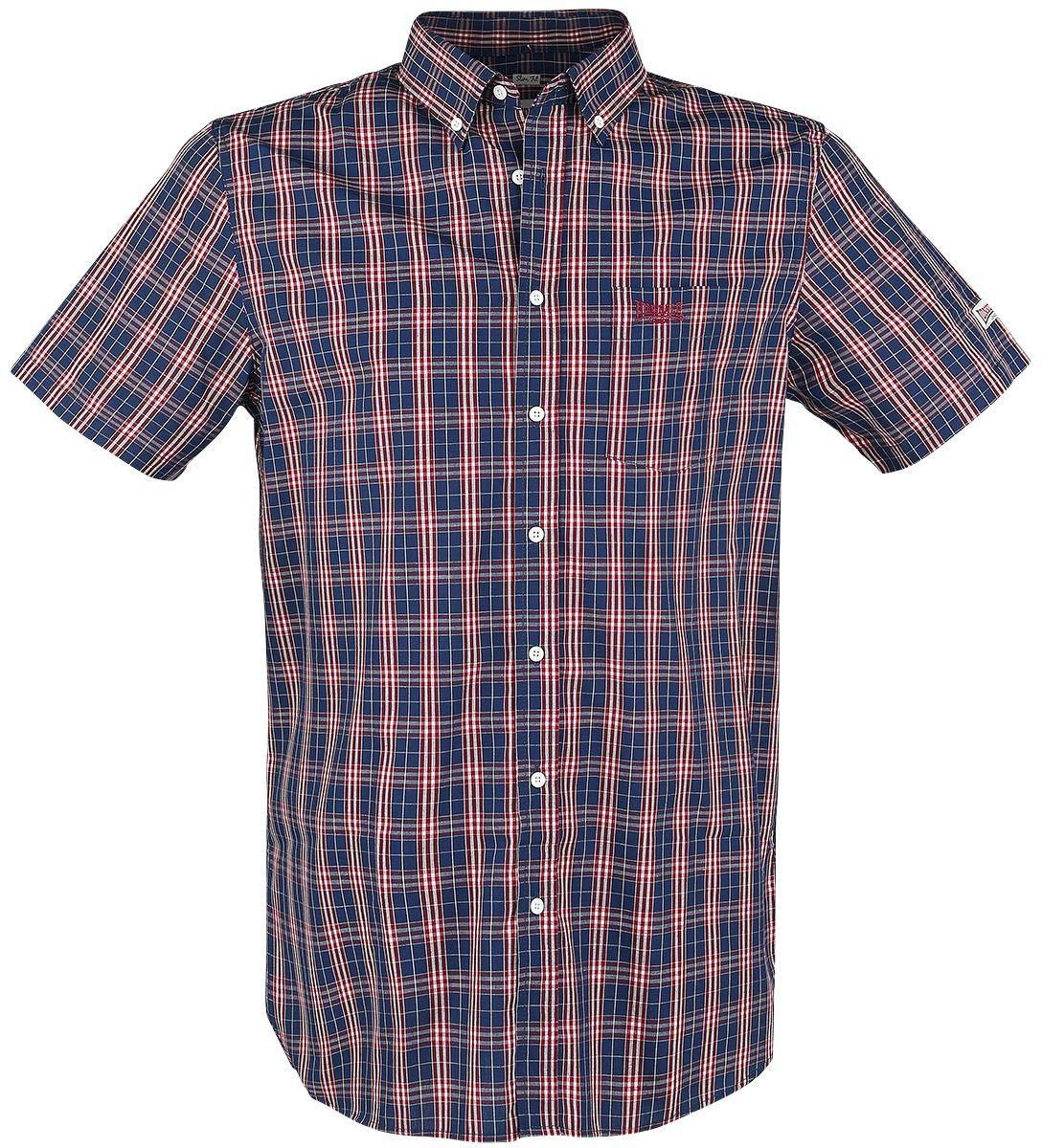TALLA L. Lonsdale London Brixworth - Camiseta de Manga Corta para Hombre