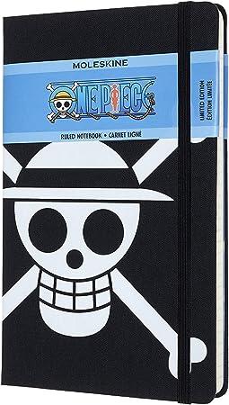 Moleskine - Modelo One Piece Edición Limitada, Cuaderno de Rayas, Tapa Dura y Detalles Temático...