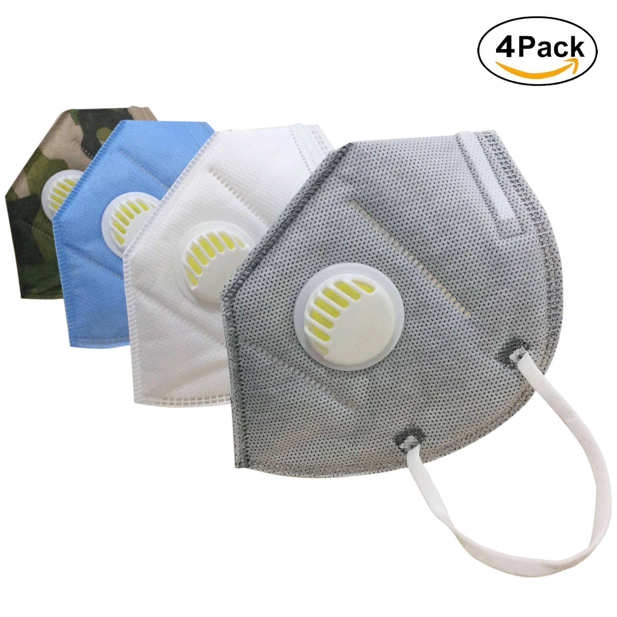 Layer Protection Details 4 About Muryobao Mask N95 Pollution Mouth Outdoor Anti Unisex