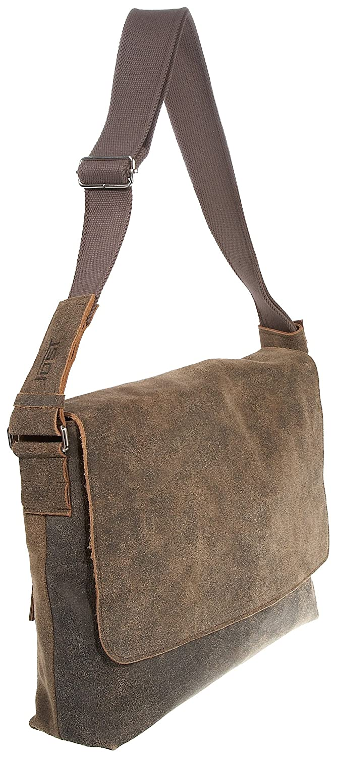 Jost Woodstock Leather Messenger Extra Large Discount Collections kwW9X