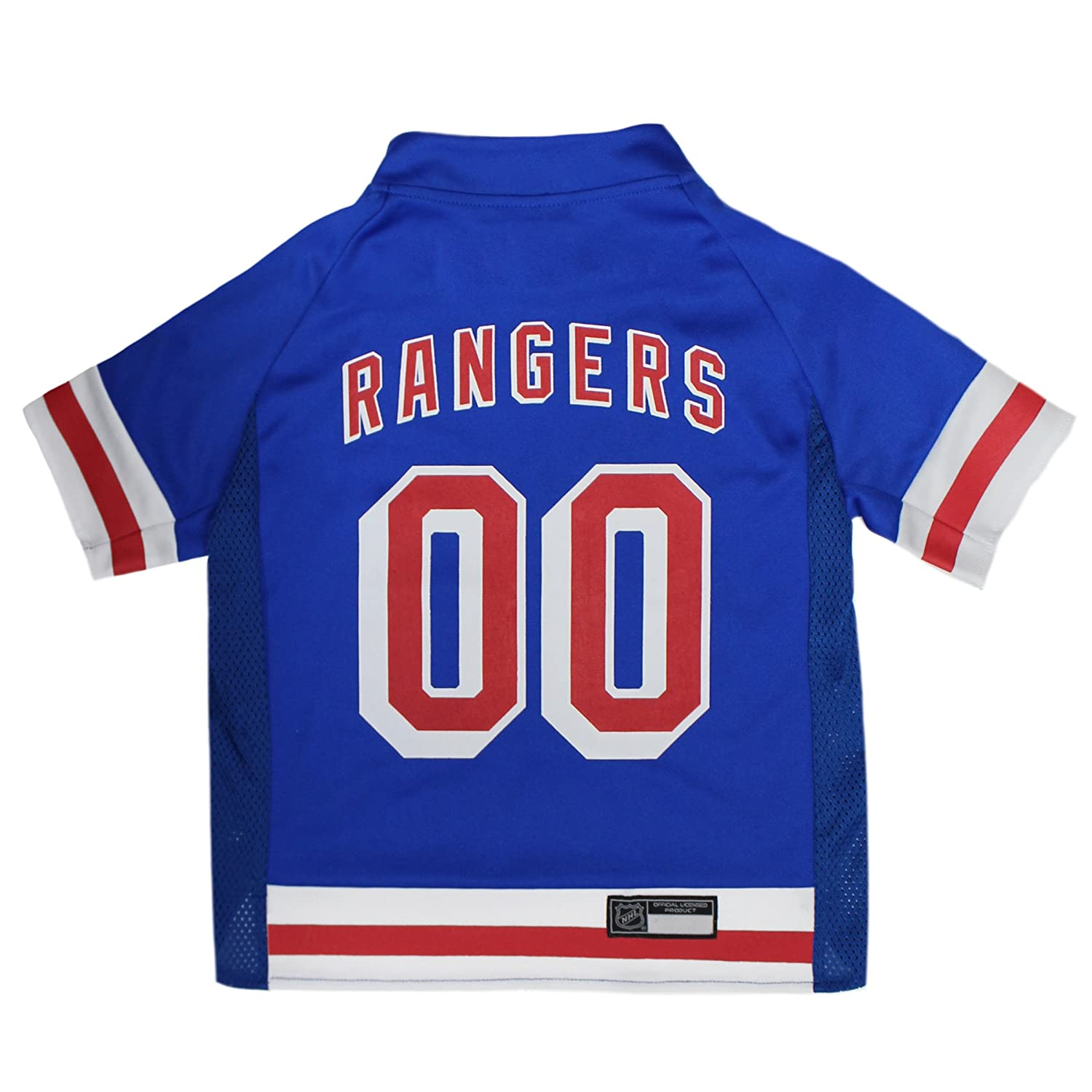 online store cd440 0a696 Amazon.com : NHL New York Rangers Jersey for Dogs & Cats, X ...