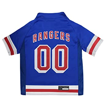Amazon.com   NHL New York Rangers Jersey for Dogs   Cats ff7243bc3