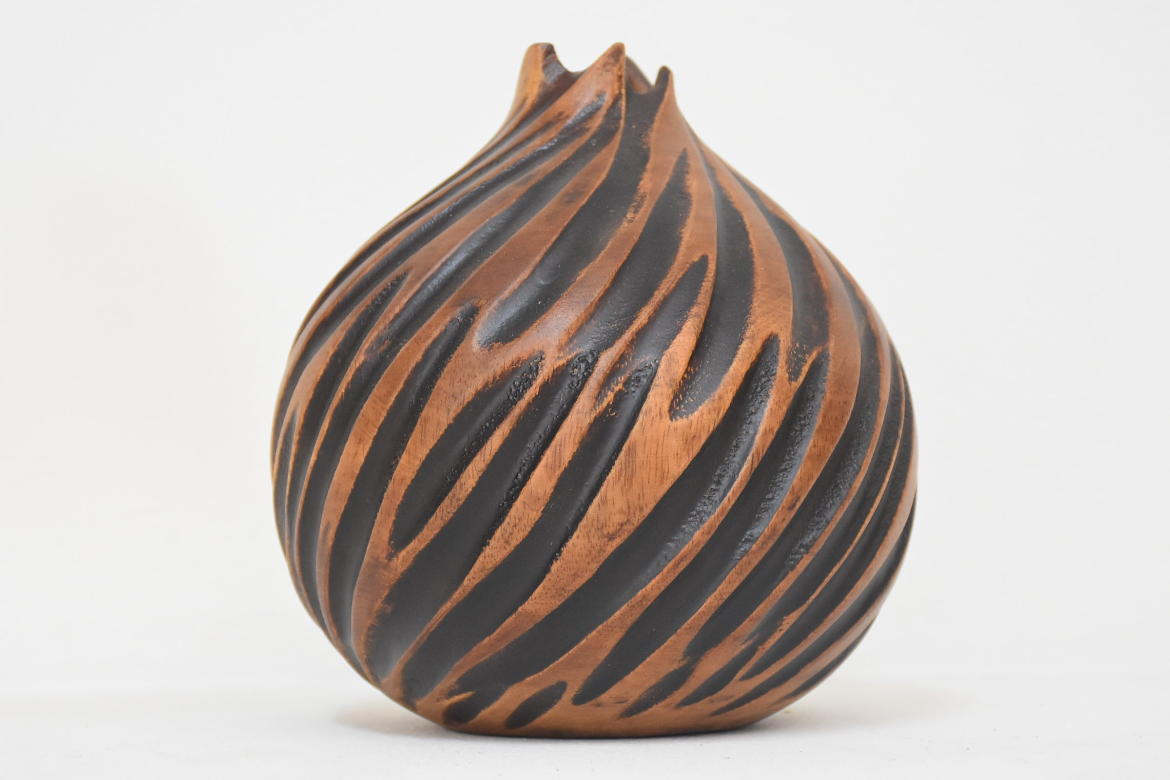 Quality From Factory Size (6''x6''')mango wood Vases Handmade Home