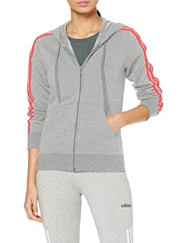 Essentials Adidas Zip De Veste Survêtement 3stripes Hoodie Full bf6YyIm7gv