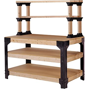 powerful 2x4Basics Work Bench