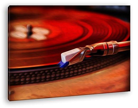 deyoli Tocadiscos con una Disk Efecto: Zeichnung como Lienzo ...