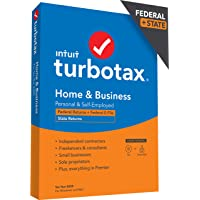Deals on TurboTax Home & Business Desktop 2020 Tax Software