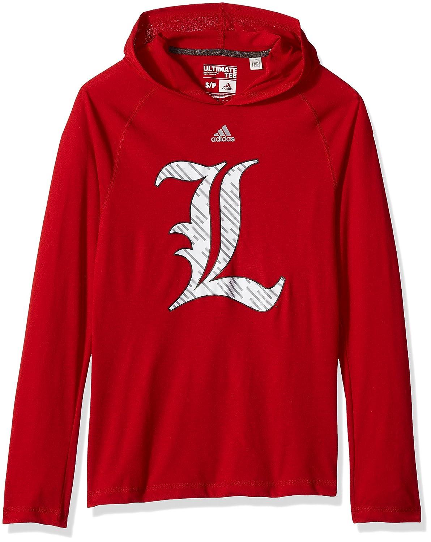 adidas NCAA Mens Line Shine Ultimate L S Hood