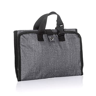 b2ced264a2aa low-cost Thirty One Fold-Up Family Organizer in Charcoal Crosshatch ...