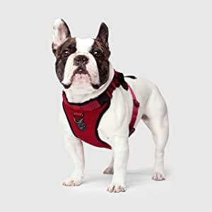 Canada Pooch | Everything Dog Harness | No-Pull Adjustable Dog Harness, Red, L