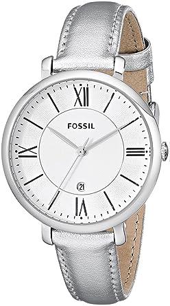 Amazon.com: Fossil es3436 Jacqueline de la mujer plata ...