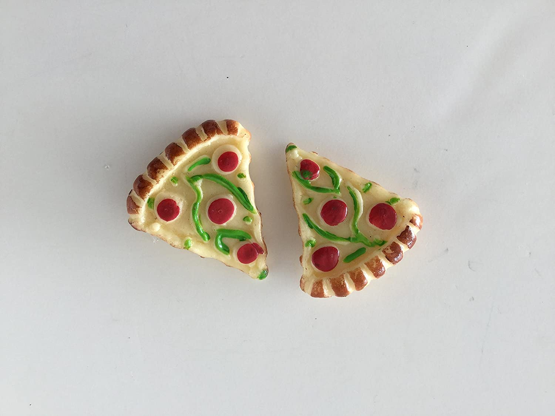 Comida rápida Pizza resina imán para nevera: Amazon.es: Hogar